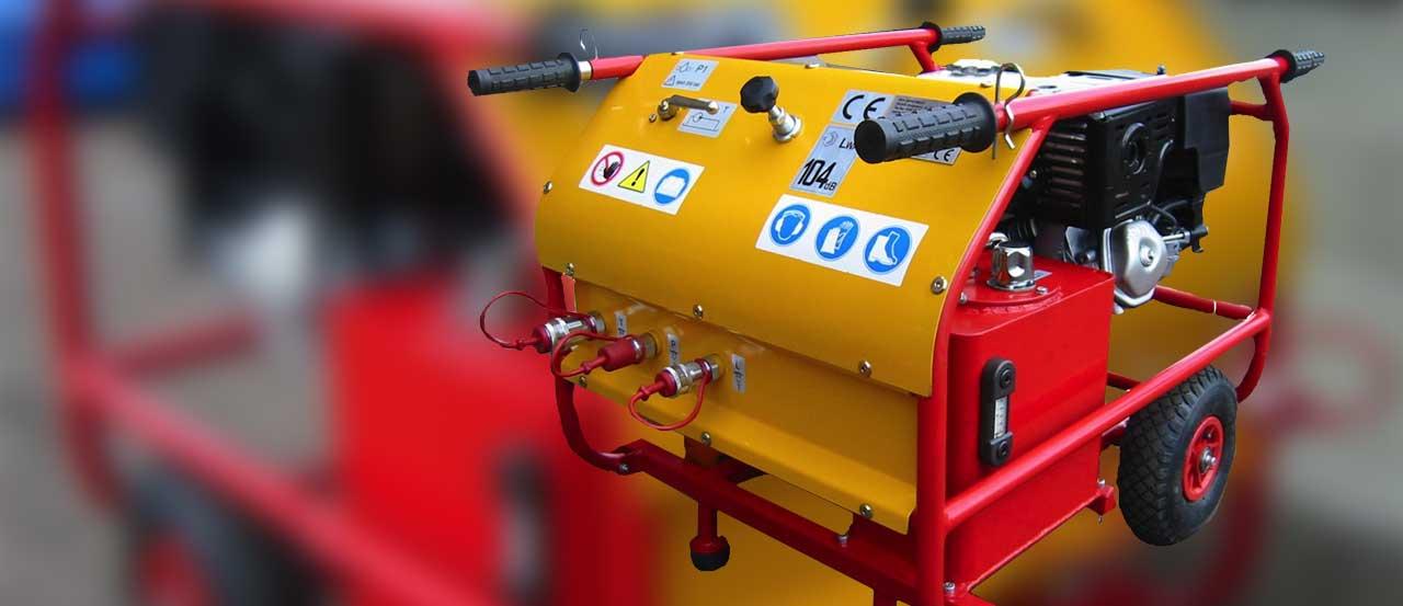 Agregaty hydrauliczne spalinowe typu HAS