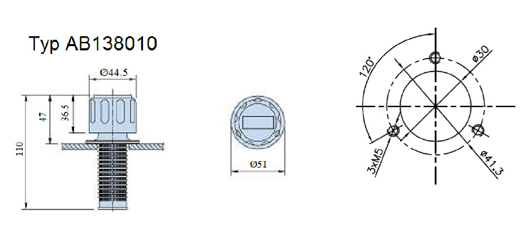 filtry wlewowe z odpowietrzeniem typ AB138010